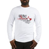 Funny Cardiac nursing Long Sleeve T-Shirt