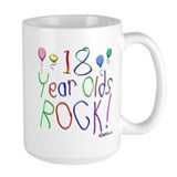 18 Year Olds Rock ! Mug