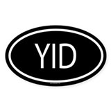 YID Oval Decal