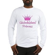 Uzbekistani Princess Long Sleeve T-Shirt