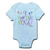 9 Year Olds Rock ! Infant Bodysuit