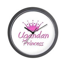 Ugandan Princess Wall Clock