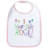 1 Year Olds Rock ! Bib