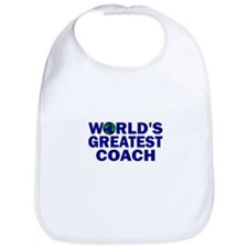 World's Greatest Coach Bib