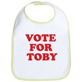 Vote For Toby Bib