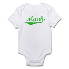 Myah Vintage (Green) Infant Bodysuit
