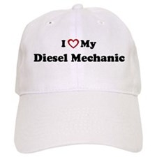 I Love My Diesel Mechanic Baseball Cap