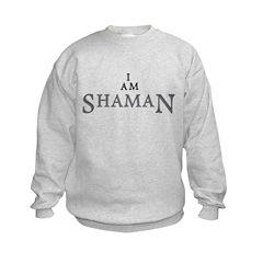 I AM SHAMAN Kids Sweatshirt