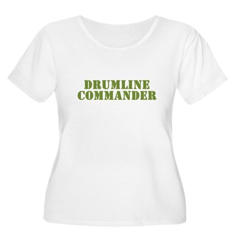Drumline Commander Women's Plus Size Scoop Neck T-