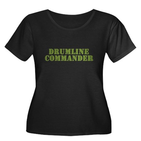 Drumline Commander Women's Plus Size Scoop Neck Da
