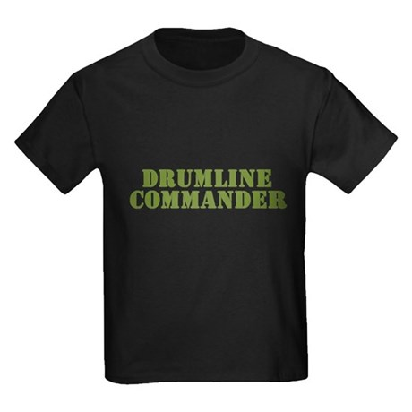 Drumline Commander Kids Dark T-Shirt