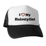 I Love My Hairstylist Trucker Hat