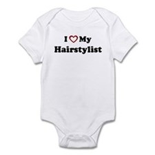 I Love My Hairstylist Infant Bodysuit