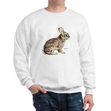 Cottontail Rabbit (Front) Sweatshirt