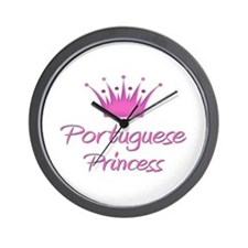 Portuguese Princess Wall Clock