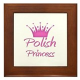 Polish Princess Framed Tile