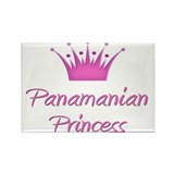 Panamanian Princess Rectangle Magnet (10 pack)