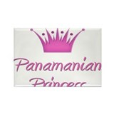 Panamanian Princess Rectangle Magnet
