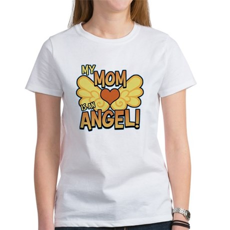 My Mom Angel Women's T-Shirt