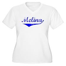 Melina Vintage (Blue) T-Shirt