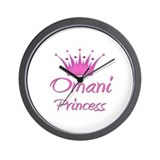 Omani Princess Wall Clock