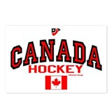 CA(CAN) Canada Hockey Postcards (Package of 8)