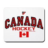 CA(CAN) Canada Hockey Mousepad
