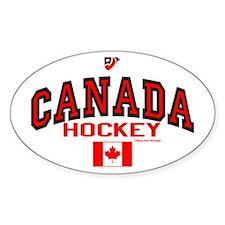 CA(CAN) Canada Hockey Bumper Stickers