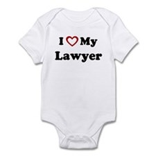 I Love My Lawyer Onesie