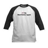 I Love My Real Estate Agent Tee