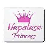 Nepalese Princess Mousepad