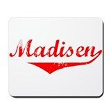 Madisen Vintage (Red) Mousepad