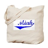 Miah Vintage (Blue) Tote Bag