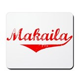 Makaila Vintage (Red) Mousepad