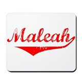 Maleah Vintage (Red) Mousepad