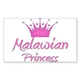 Malawian Princess Rectangle Decal