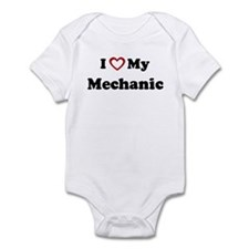 I Love My Mechanic Infant Bodysuit