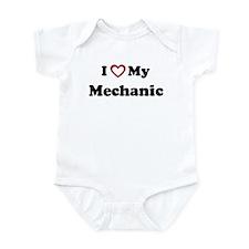 I Love My Mechanic Onesie