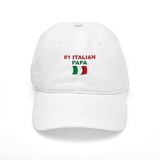 #1 Italian Papa Baseball Cap