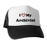 I Love My Archivist Trucker Hat