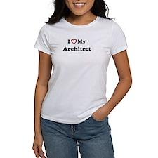 I Love My Architect Tee