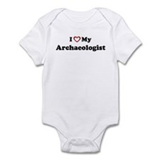 I Love My Archaeologist Infant Bodysuit