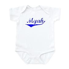 Myah Vintage (Blue) Infant Bodysuit