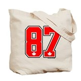 CA(CAN) Canada Hockey 87 Tote Bag