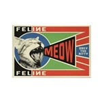MEOW - Obey the Kitty! Propaganda Magnet