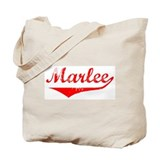 Marlee Vintage (Red) Tote Bag