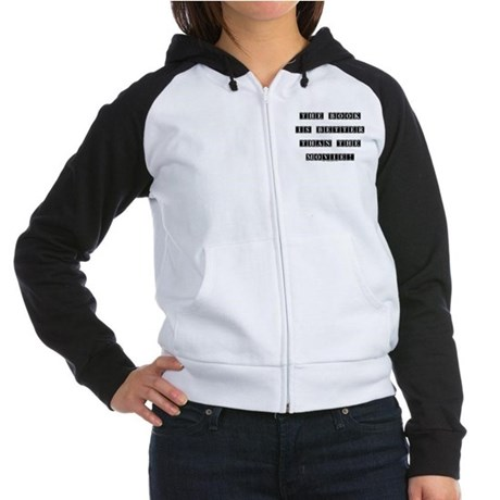 The Book is Better...  Women's Raglan Hoodie