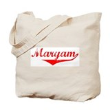 Maryam Vintage (Red) Tote Bag