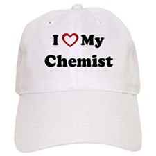 I Love My Chemist Baseball Cap