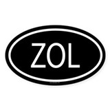 ZOL Oval Decal